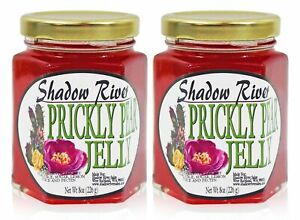 Shadow River Gourmet Prickly Pear Jelly From Real Cactus Juice 8 oz Jar (2 Pack)