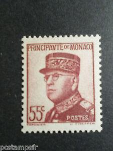 MONACO-1937-39-timbre-159-PRINCE-LOUIS-II-neuf-VF-MNH-STAMP-CELEBRITY