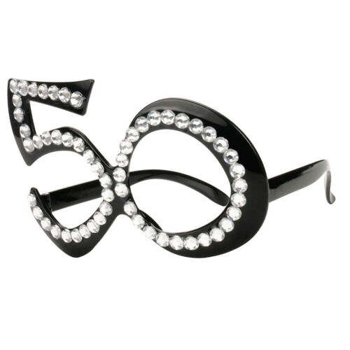 50th Anniversary Age Birthday Glasses Accessories Anniversary Party Favor