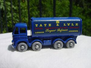 RARE-LESNEY-MATCHBOX-SERIES-10-TATE-amp-LYLE-SUGAR-TRUCK-w-GPW-MINT-ORG-D-BOX