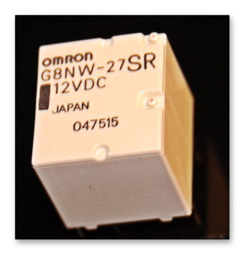Omron G8NW-27SR 12VDC Relais Ultra-Miniature Automotive PCB relay