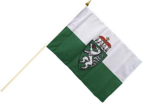 Österreich Steiermark Stockflagge Flaggen Fahnen Stockfahne 30x45cm
