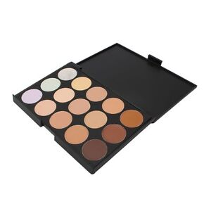 WaterProof 15 Color Facial Concealer Fashion Makeup Palette,EyeShadow