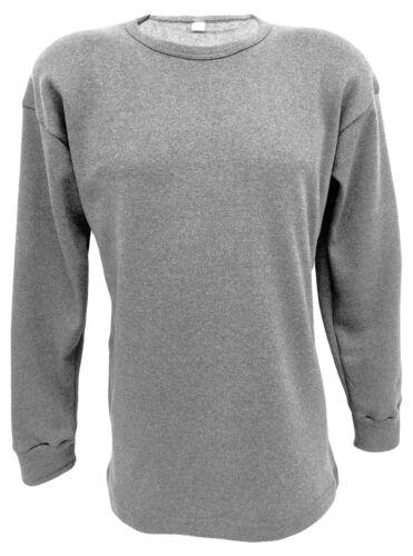 Winter Langarm Unterhemd 2er Set Unterhemd 100/% Baumwolle Gr 5-8 und Arbeits