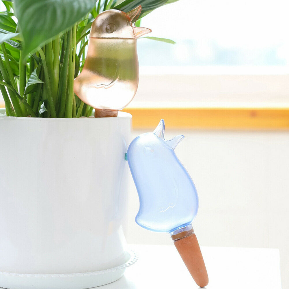 Creative Bird Shape Home Water Flowers Plant Potted Automatic Watering Device