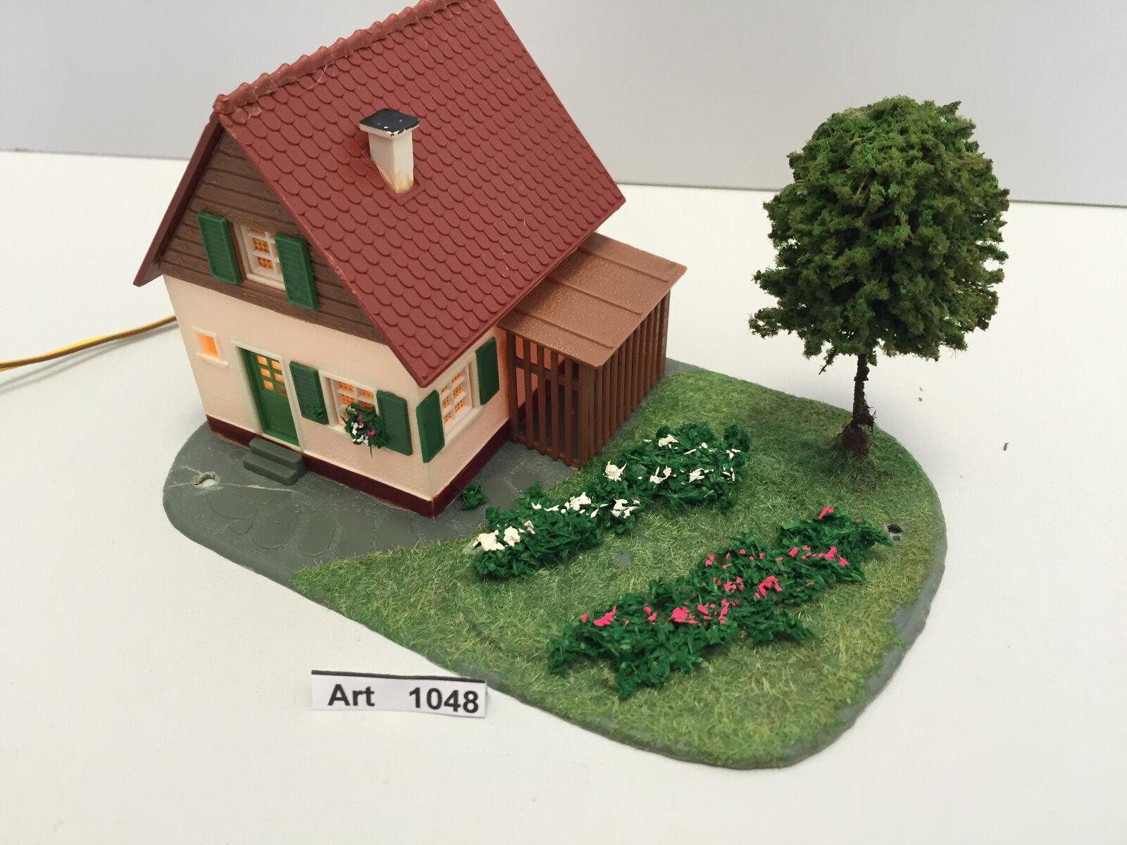 WIAD, VAUPE O. Faller h0 detached house with lighting, garden, 1 87, Rare & Rare