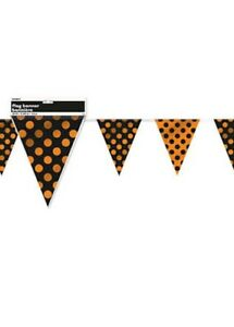 Halloween-Gothic-Cute-Spotty-Orange-and-Black-Bunting