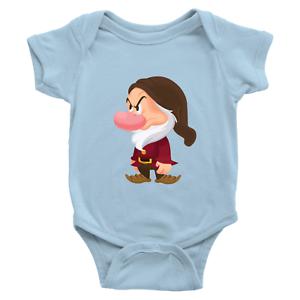 Infant-Baby-Rib-Bodysuit-Jumpsuit-Romper-Babysuit-Clothes-Seven-Dwarfs-Grumpy