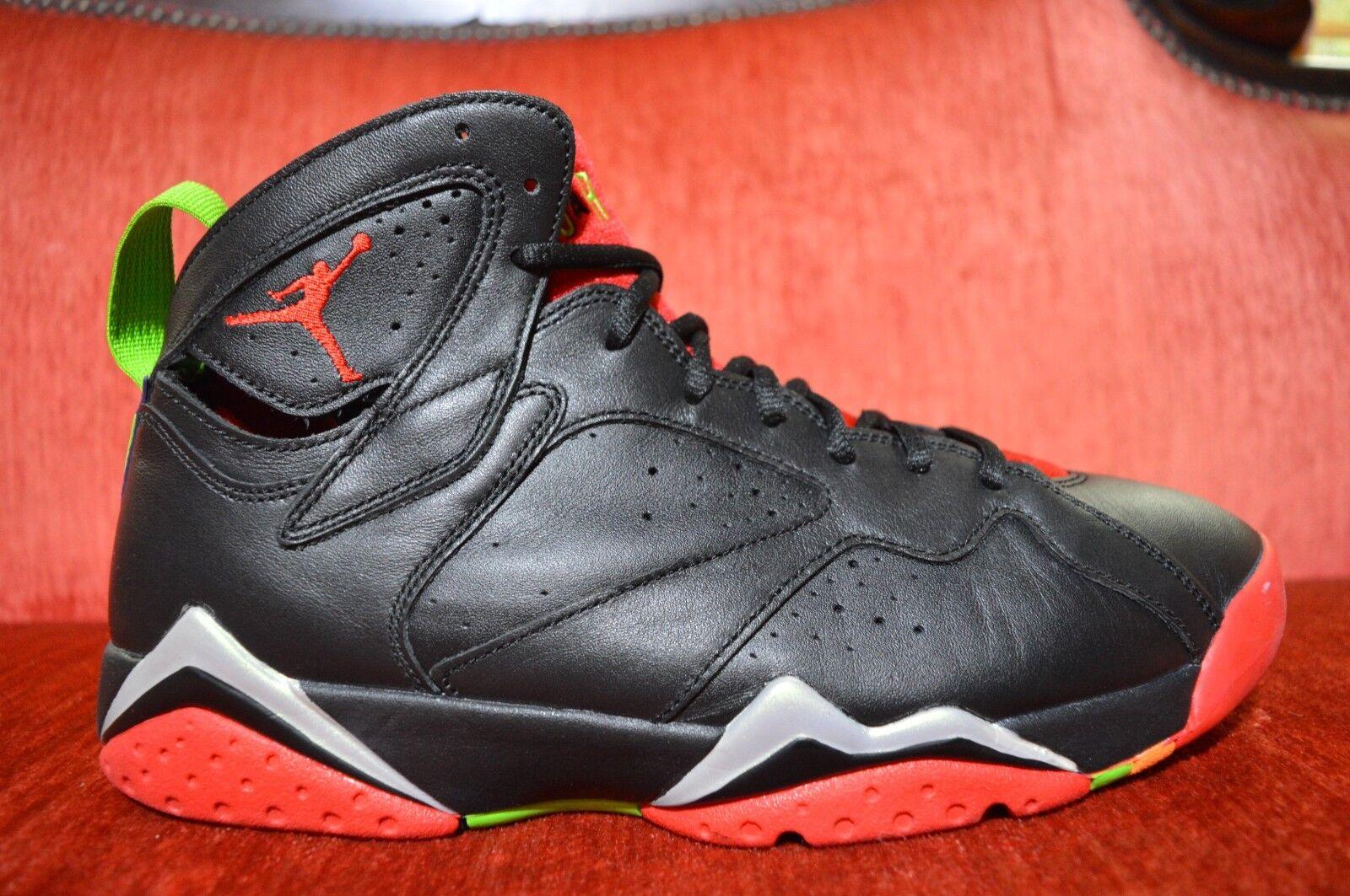 CLEAN Nike Air Jordan Retro 7 VII Size 9.5 Marvin The Martian Black 304775-029