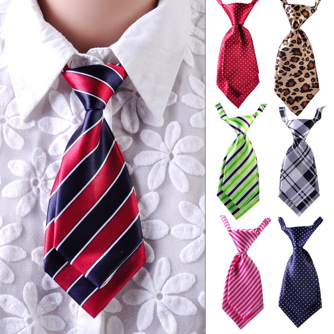 Fashion Women Girls Kids Casual Party Wedding Short Tie Necktie Neckwear Adjust