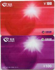 China Used Phone Reload Cards - 2 pcs U - Fon Reload Card