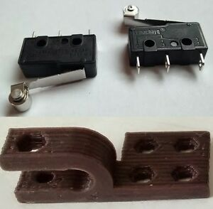 3D-Printer-Endstop-Switch-Mechanical-Roller-Lever-Microswitch-End-Stop-Clips