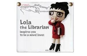 Kamibashi Lola the Librarian The Original String Doll Gang Keychain Clip