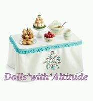 American Girl Doll Caroline's Table & Treats