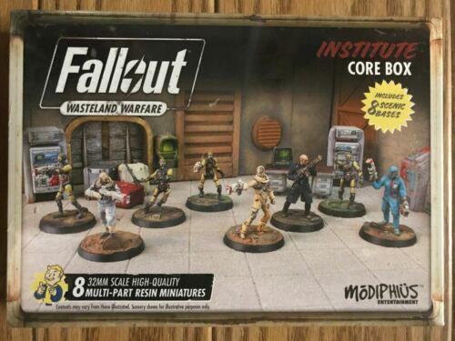 Wasteland Warfare allout RPG Institute Core ADD/'L ITEMS SHIP FREE