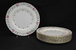 Minton-Printemps-S370-Set-of-8-Dinner-Plates