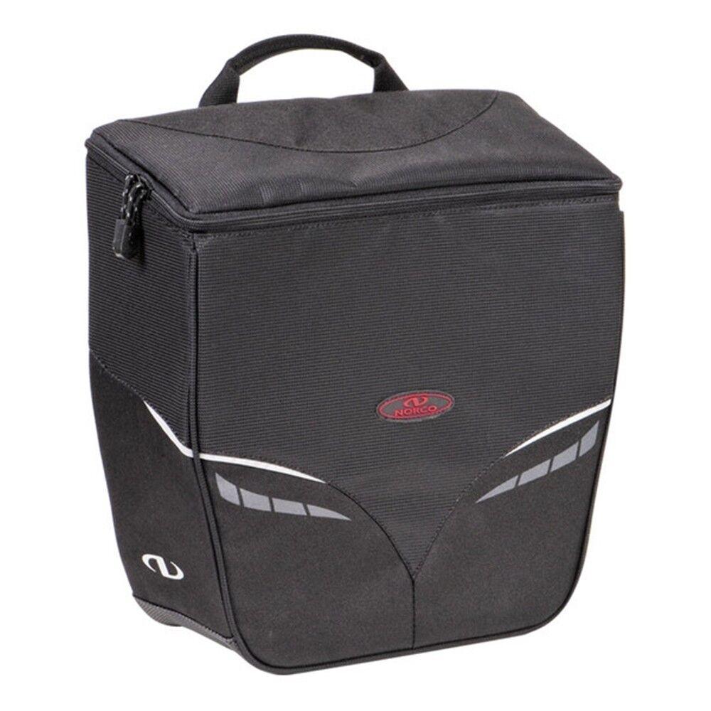 Norco Gepäckträgertasche Canmore City Tasche Tasche Tasche Fahrrad Shopper + KLICKfix Haken d35396