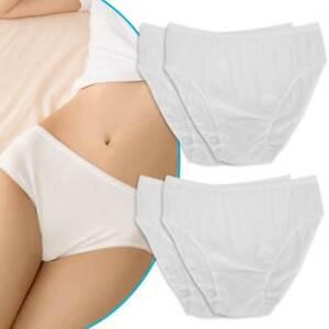 10Pcs Womens Disposable Underwear Maternity Pregnancy SPA Panties Cotton Briefs
