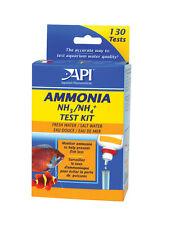 API líquido Amoniaco Prueba Kit Set Tanque De Agua Dulce & Acuario Marino NH3 NH4