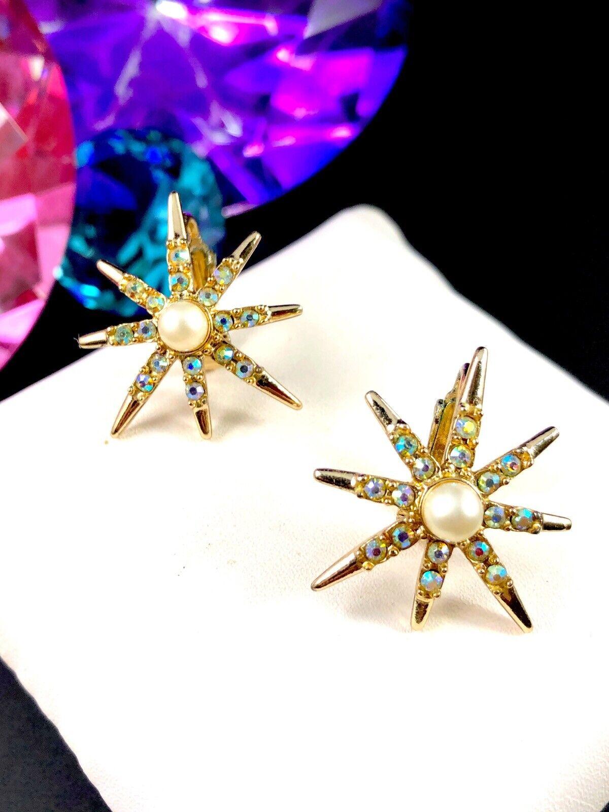 Gorgeous EMMONS EMJ brooch /& earrings