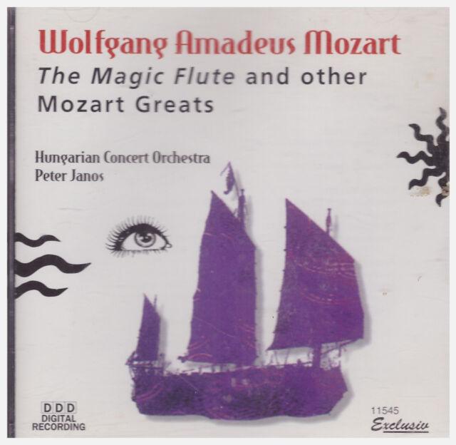 MOZART MAGIC FLUTE AND OTHER MOZART GREATS(CD, 1998, Delta Distribution)