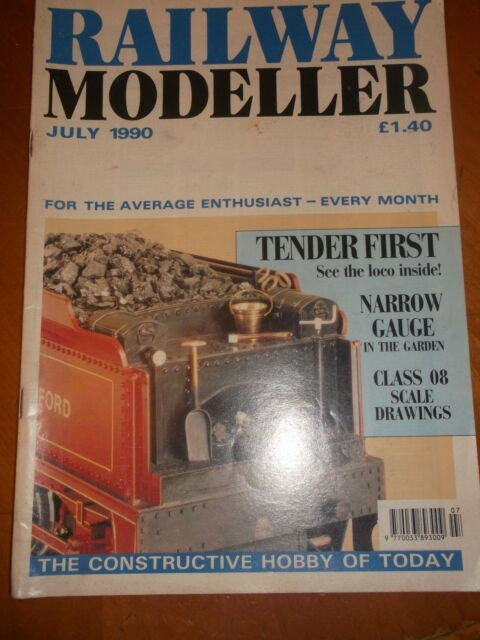 RAILWAY MODELLER MAGAZINE VOLUME 41 NUMBER 476  JULY 1990