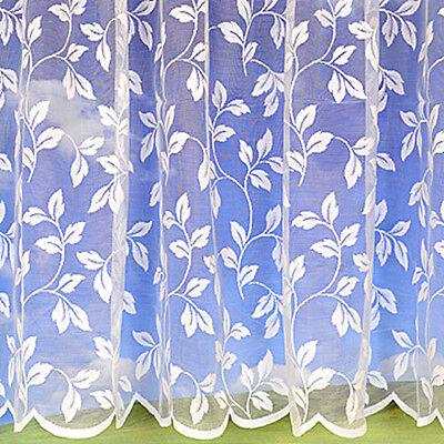 3798 Leaf Net Curtain - Price Per Meter