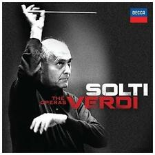 Solti: Verdi: The Operas [16 CD Box Set], New Music
