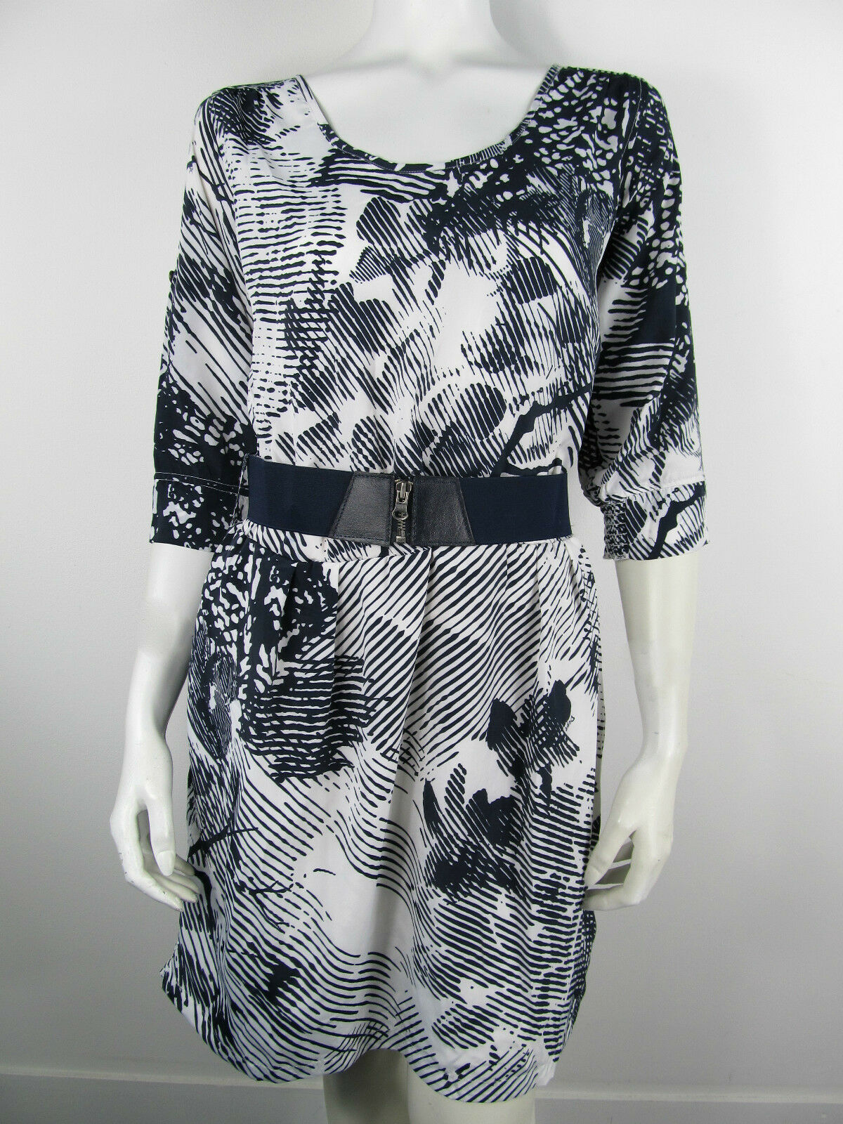 Dept Kleed Kleid Dress Jurk Tunika 008 Whisper White Neu M L