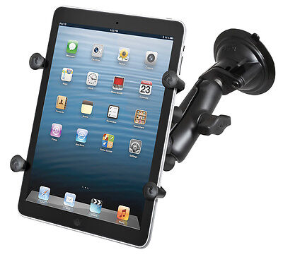 """RAM Short Arm Suction Cup Window Mount for Samsung Galaxy Tab A 8.0 /& 8/"""" Tablets"""