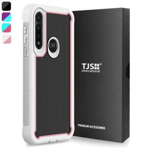 For Motorola Moto G Power 2020, Phone Case TJS Define Heavy Duty Bumper Cover