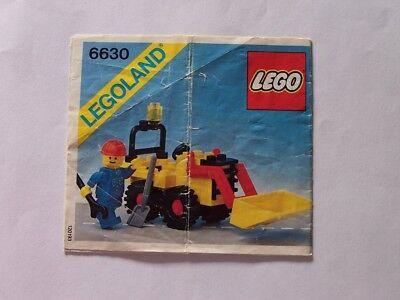 Motiviert Lego® Bauanleitung Instruction Nr 6630 PüNktliches Timing