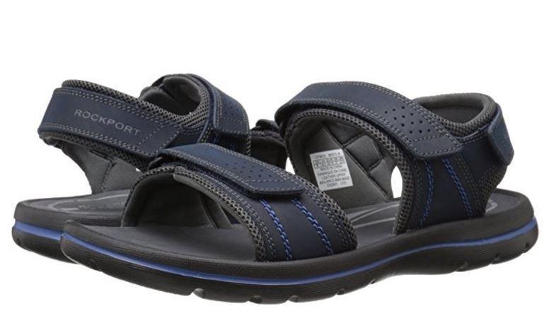 Rockport XCS Uomo Get Your Kicks Quarter Strap Strap Strap Adjustable Casual Sandals scarpe ba21a5