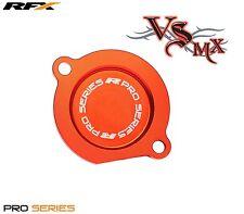RFX Pro Series Oil Filter Cover (Orange) KTM SX-R 400-525 00-06 EXC250-525 99-07