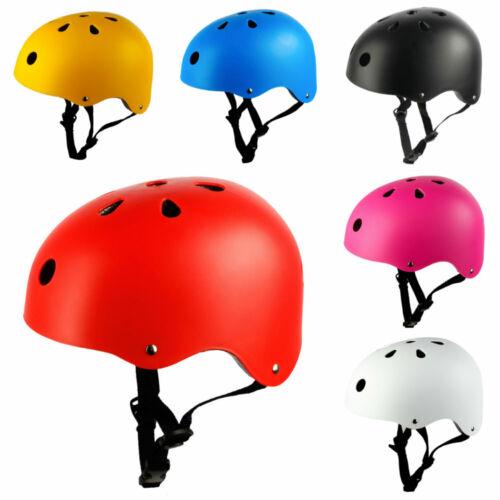 Safety-Kids-Child-Helmet-Bike-Bicycle-Skateboard-Scooter-Boys-Girls-BMX-Stunt