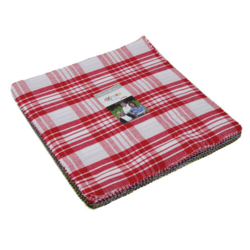 Patchwork Quilting 10 Inch Squares Moda Fabric Oxford Wovens Layer Cake