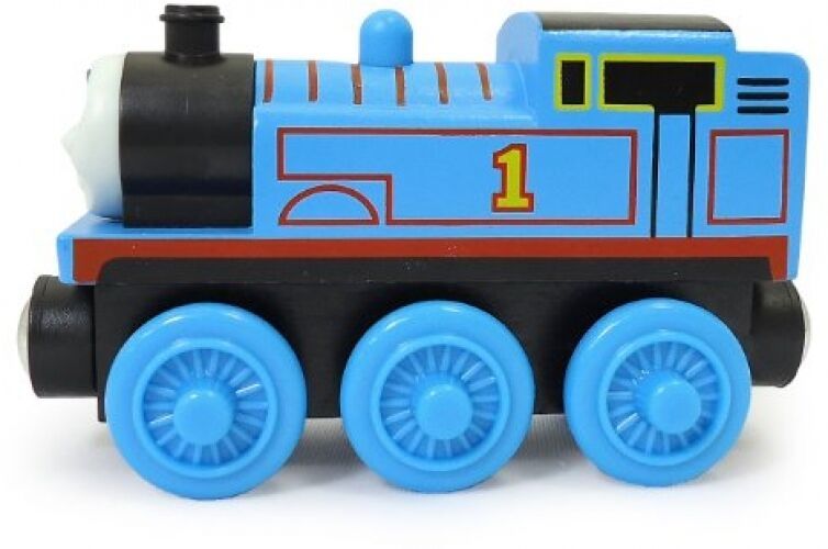 Thomas Train Car And Friends Wooden Railway Set Engine Engine Engine Model Wood Kids Play bluee 181c65