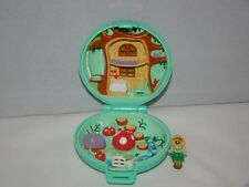 1992 Polly Pocket Bluebird Jeweled Forest Compact Case