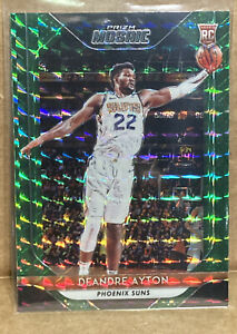 2018-19-Panini-Mosaic-Prizm-DeAndre-Ayton-Green-Refractor-Phoenix-Suns-RC-Rookie