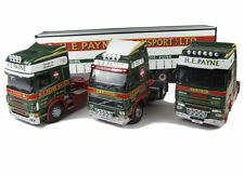CORGI MODERN CC99147 1/50 H E Payne Transport Ltd 4 Piece Set Scania Volvo DAF