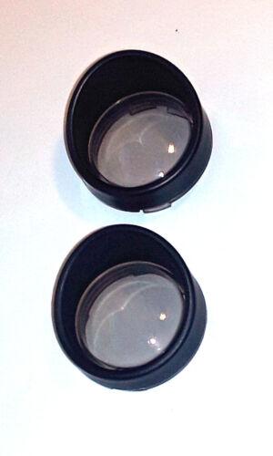 2 St Clignotant verres-fumée avec anneau en noir-pour Harley Davidson ® Modèles