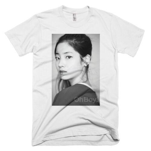 Deux fois MAGAZINE Cheer up Profil Shot dahyun T-shirt Tee Photocard album