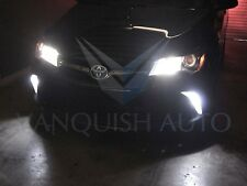 Switchbacks White Amber Led Front Turn Signal Light Bulbs for 2015+ Toyota Camry