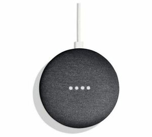 Google-Home-Mini-Charcoal-Brand-New-Sealed-Official-Smart-Assistant