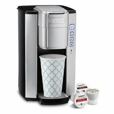 Cuisinart SS-5IHR Compact Single-Serve Coffeemaker, Stainless Steel (Renewed)