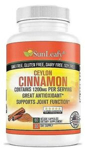 Organic-Ceylon-Cinnamon-1200mg-Diabetic-Support-Joint-Help-Made-in-USA