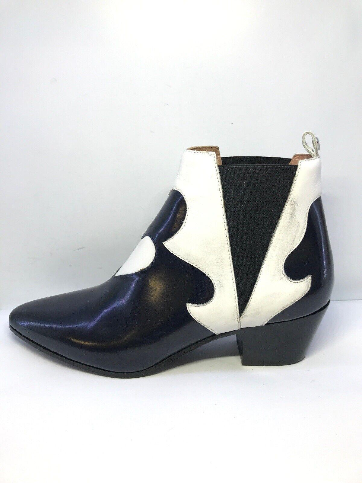 b4296b51100c4 Twin Set Simona Barbieri Pointed Heeled Heeled Heeled Ankle Boots ...