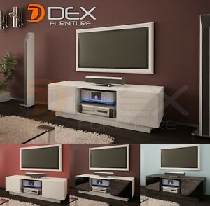 Modern Tv Stand Tv Unit Cabinet 120cm 5 Colors Led