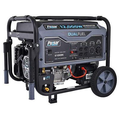 Pulsar 12000 Watt Portable Dual Fuel Propane/Gas Generator Electric Start G12KBN 814726024598 | eBay