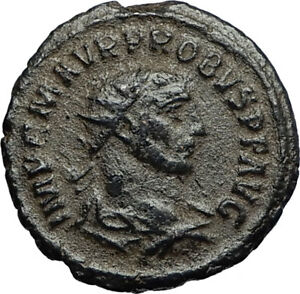 PROBUS-w-Woman-Ancient-280AD-Genuine-Authentic-Roman-Coin-from-Antioch-i67721